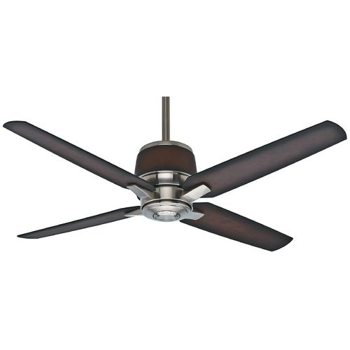 Casablanca Fan Aris Brushed Nickel Ceiling Fan Without Light At Destination Lighting Outdoor Ceiling Fans Ceiling Fan Ceiling Fans Without Lights