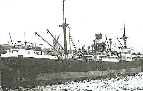SS Kavak On the 2nd DEcember 1940 when on route from Demerera - Halifax (21 Nov) - Newport, Monmouth in Convoy HX-90 and carrying a cargo of 1,745 tons of bauxite and 1,650 tons of pitch when she was torpedoed by German submarine U-101 and sunk about 340 miles west of Bloody Foreland. The master, 23 crew members and one gunner were lost. 15 crew members and one gunner were picked up by HMS Viscount (D 92)