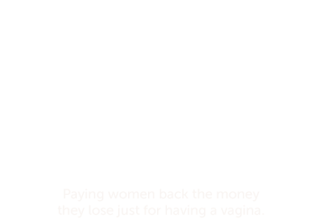 Click to know more about THE EQUAL PAYBACK PROJECT -The money raised goes to the national Women's Law Center, a non-profit group fighting for equal pay through legislation, education and advocacy