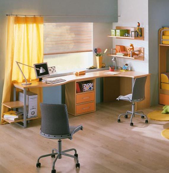 Decorating Ideas For Study Spaces: Kids Study Room Decorating