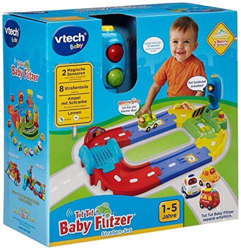 Vtech Baby 80 127804 Tut Tut Baby Flitzer Strassen Set Vtech Baby Baby Toys Toys