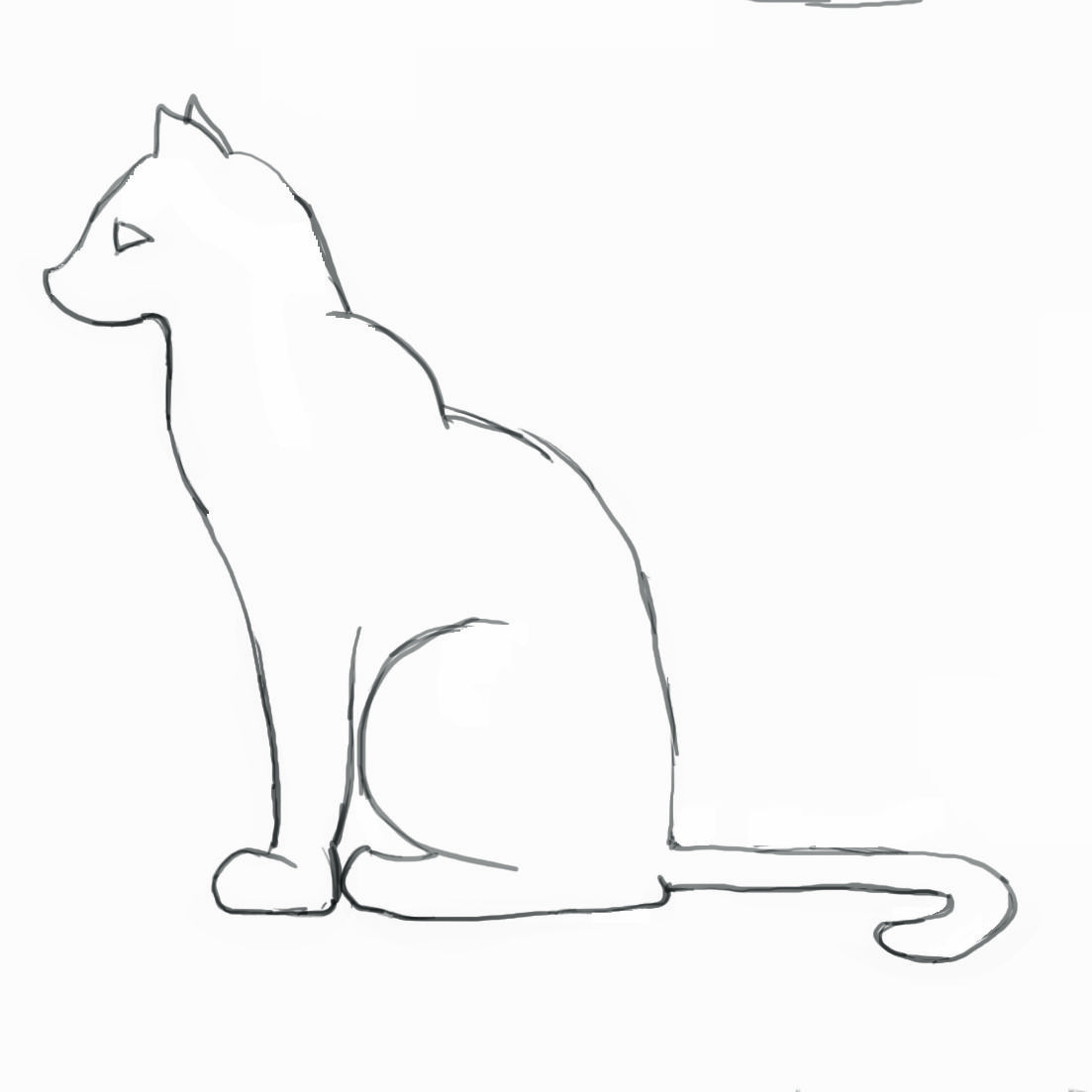 How to draw a kitten: a short master-class