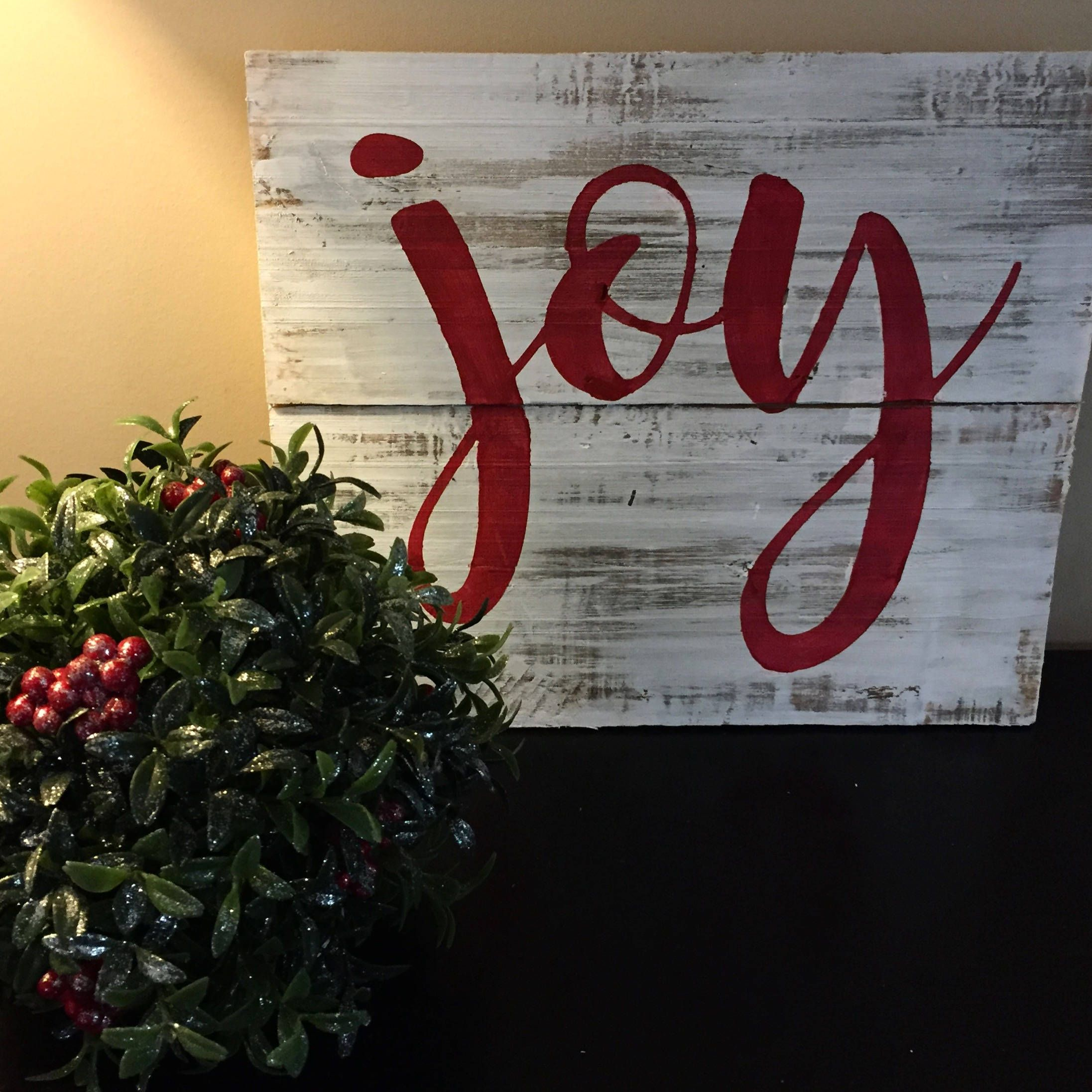 joy sign christmas sign pallet wall art christmas pallet sign rustic christmas decor reclaimed christmas sign by upcycledwooddesignus on etsy