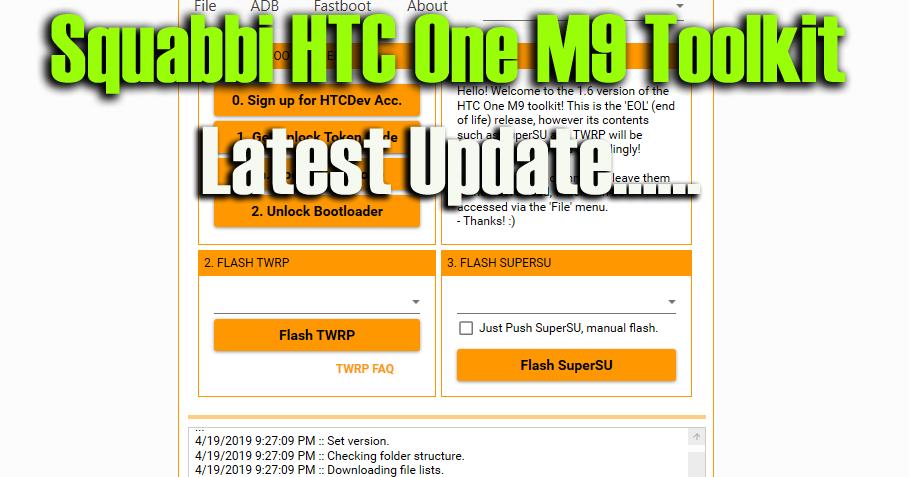 DownloadSquabbi HTC One M9 Toolkit Feature: Unlock