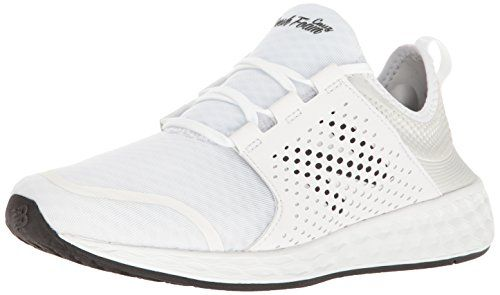 Wx624wb4, Chaussures de Running Entrainement Femme - Blanc (White/Blue), 37.5 EUNew Balance