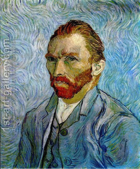 Self Portrait Iii 2 Painting By Vincent Van Gogh Reproduction