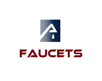 faucets logo design this logo could be used for a company that rh pinterest com
