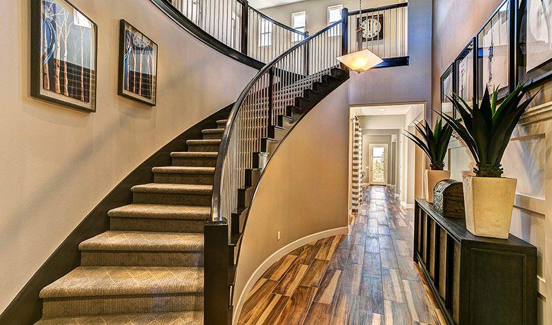 #KHOV_West | #KHOV_SoCal | Estates At Meridian Hills | Biltmore   Entryway  U0026 Stairs