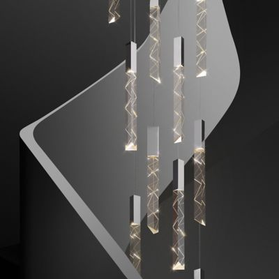 Trinity LED Round Multi Light Pendant