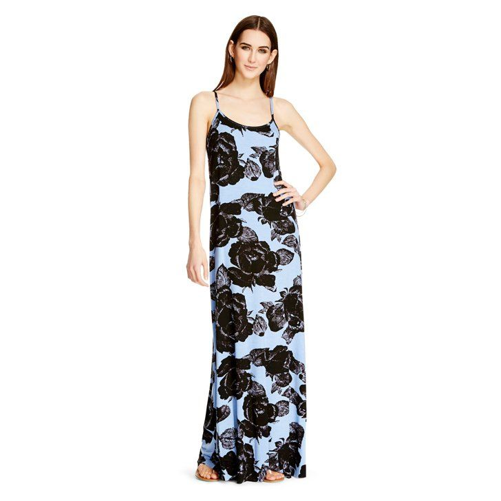 Pin for Later: 100 Sundresses Under $100: Ready, Set, Shop! ANDERSON Cross Strap Maxi Dress Blue Rose ANDERSON Cross Strap Maxi Dress Blue Rose ($50)