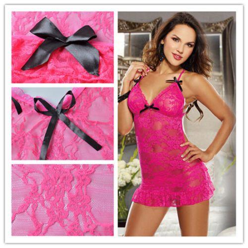 Sexy Hot Women Fashion Lingerie G-string Lace Dress Underwear Babydoll Sleepwear https://t.co/lAyAS4COk6 https://t.co/IbzvVrpCIx