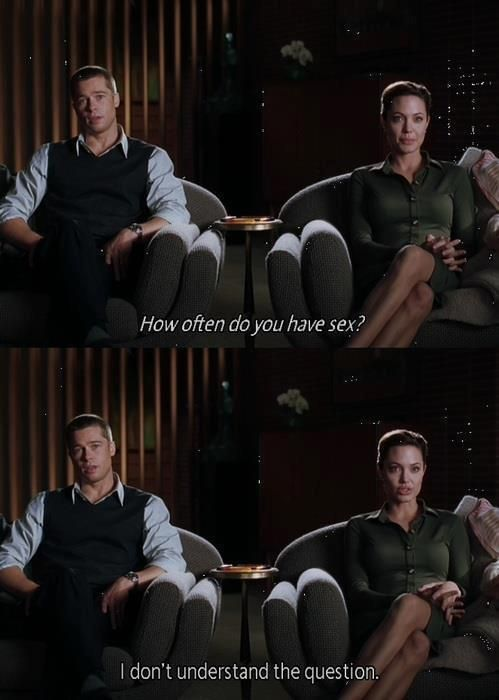 Angelina Jolie Mr And Mrs Smith Interview Mr And Mrs Smith Favorite Movie Quotes Best Movie Lines Movies