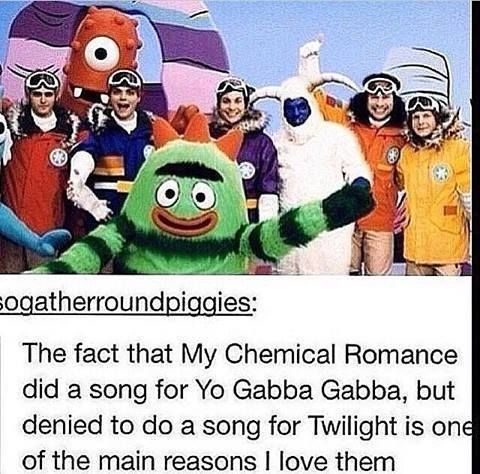 This is why MCR is awesome