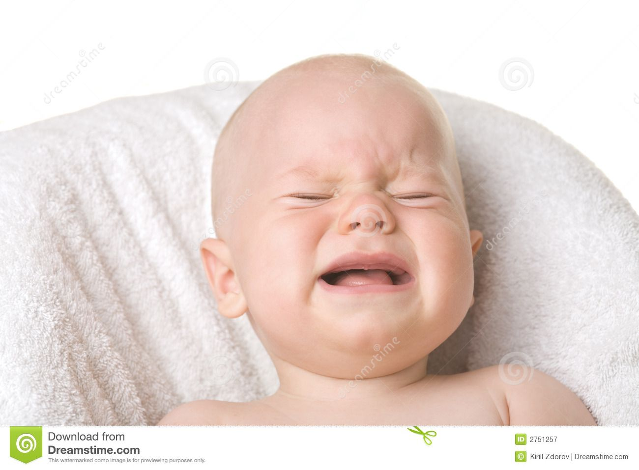 Crying Baby A Portrait Of A Crying Baby Isolated Sponsored Baby Crying Portrait Crying Isolated Baby Crying Baby Crying