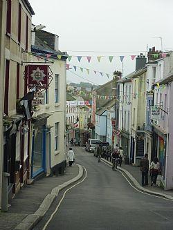 High Street Falmouth Cornwall England Falmouth Cornwall Falmouth