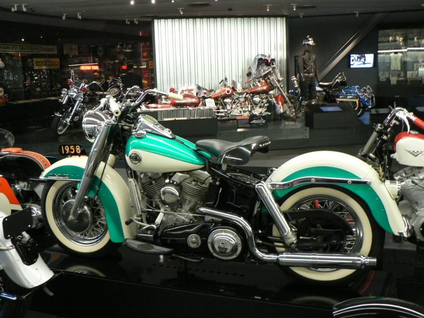 Motorcycle White Motorcycle Cars: Turquoise And Antique White Harley Davidson