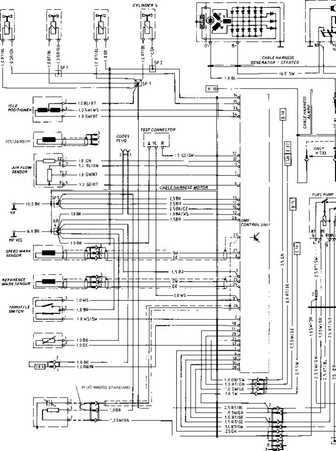 Porsche 944 relay diagram