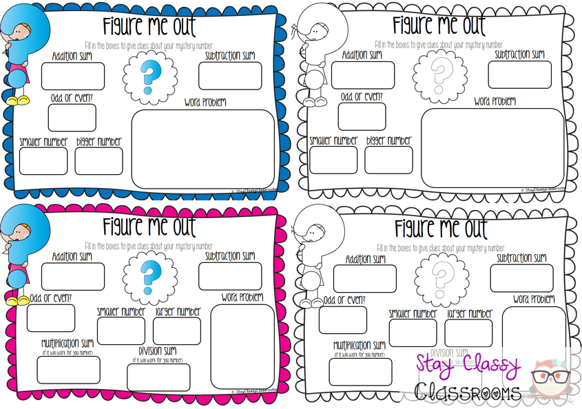 Outstanding In And Out Math Problems Pictures - Math Worksheets ...