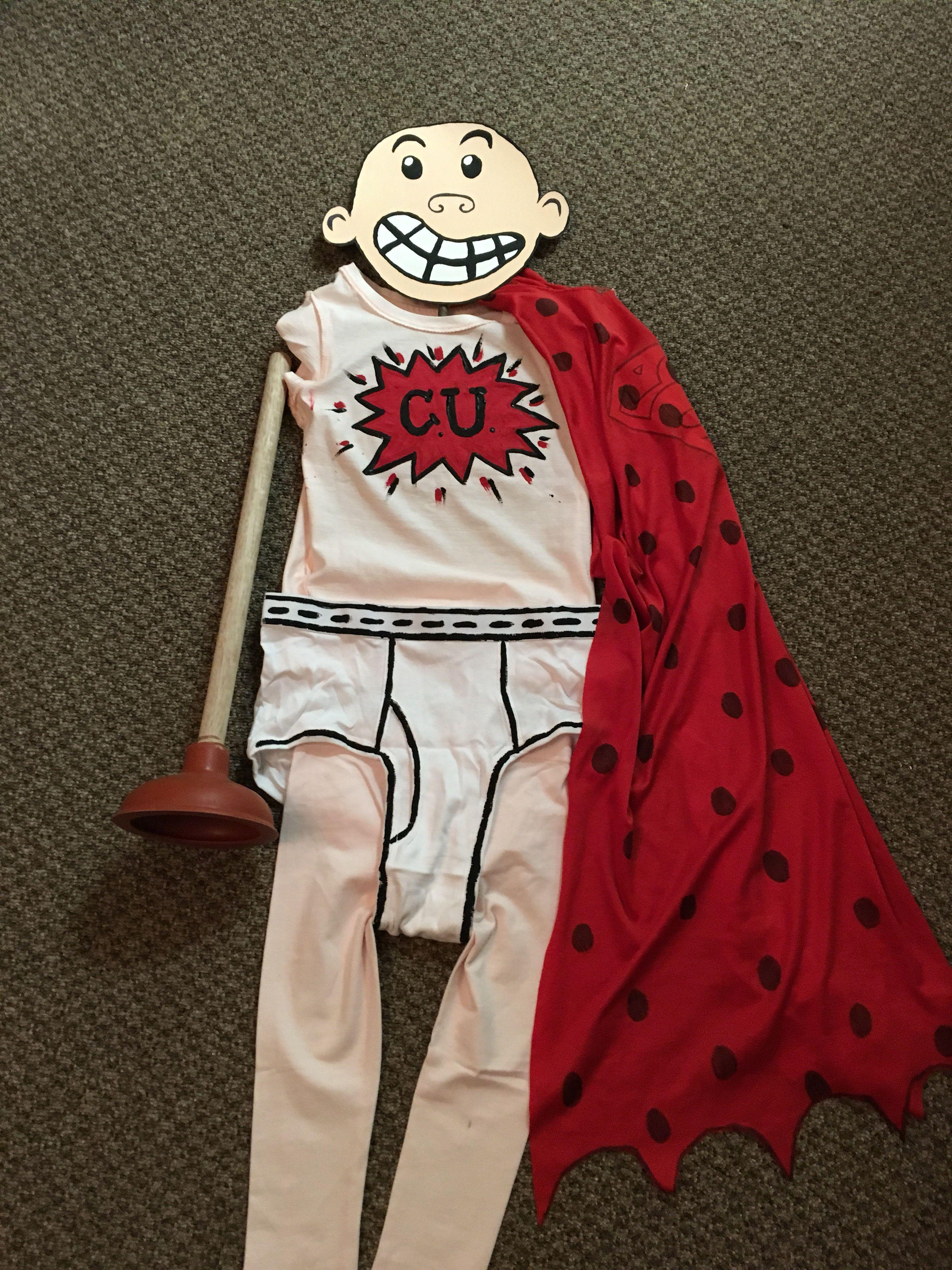 Captain Underpants Costume #captainunderpantscostume #captainunderpantscostume