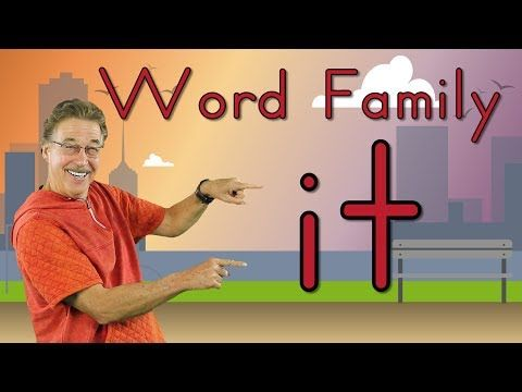 Word Family It Phonics Song For Kids Jack Hartmann
