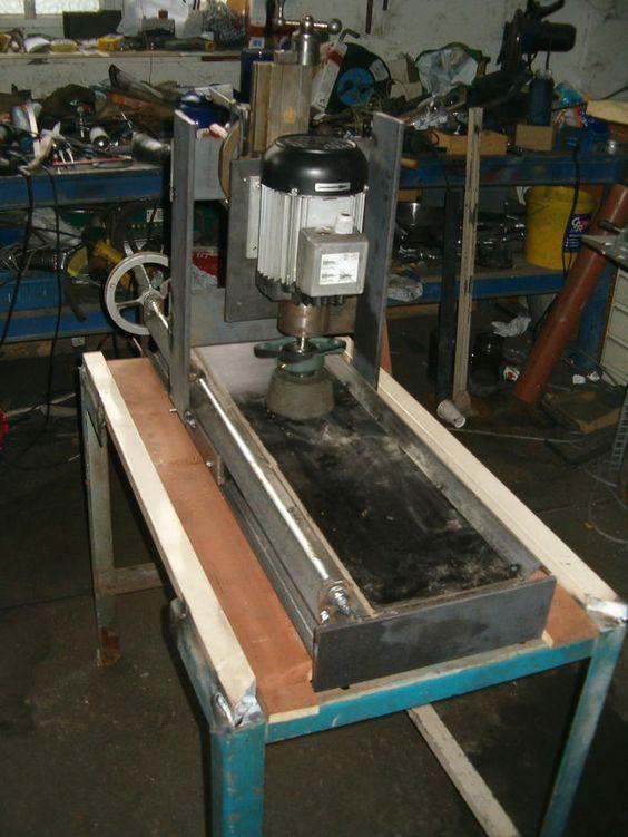 Resultado de imagen para homemade surface grinder plans
