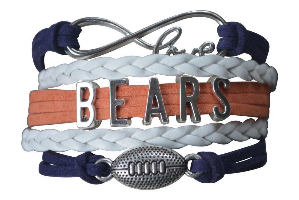 Chicago bears bracelet bears jewelry baers charmbears