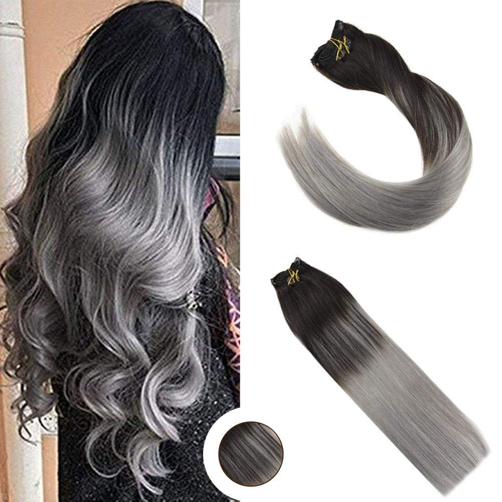 Details about Ugeat Remy 100 Human Hair Clip in Hair