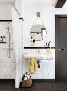 DIY espejos colgantes | decoracion | Pinterest | Baños, Cuarto de ...