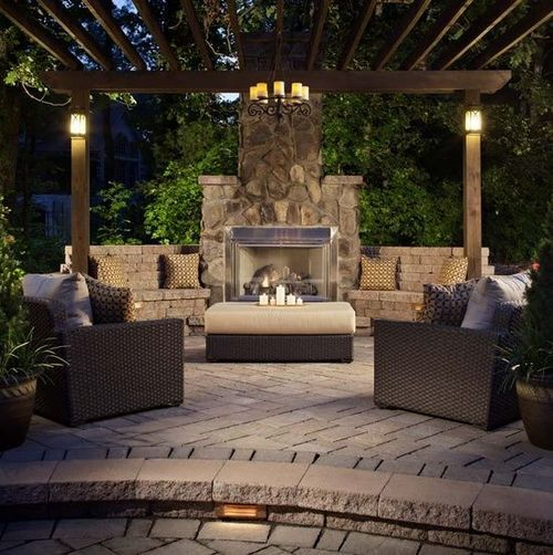 I Can Dream Right Outdoor Fireplace Designs Patio Design