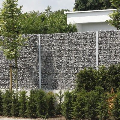 Cl ture gabions gateau celine pinterest cl tures de for Cloture mur exterieur