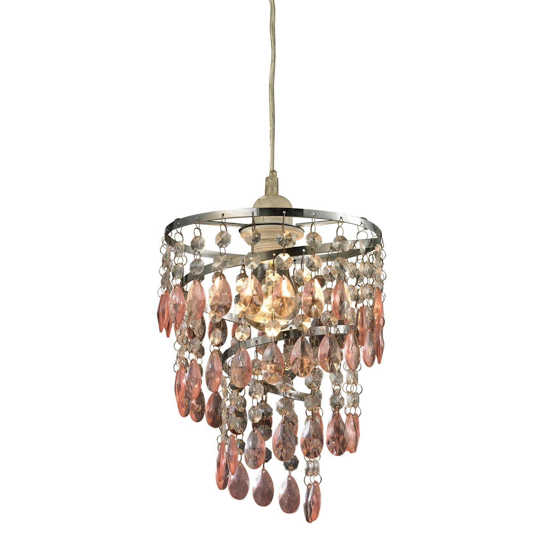 Coaster furniture piece lamp set in brown mini pendant