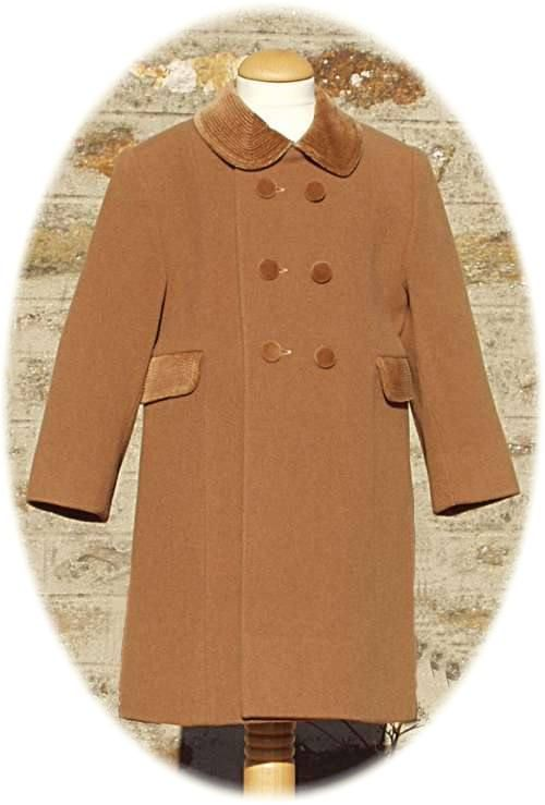 7f840cbab9d4 Classic children s coats for girl s and boys. Made in Spain