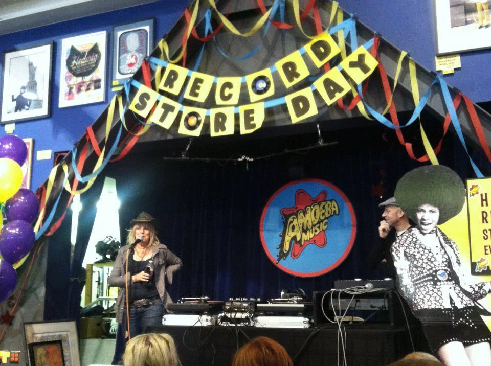 Lucinda Williams, Amoeba Music Hollywood CA  #RSD2013