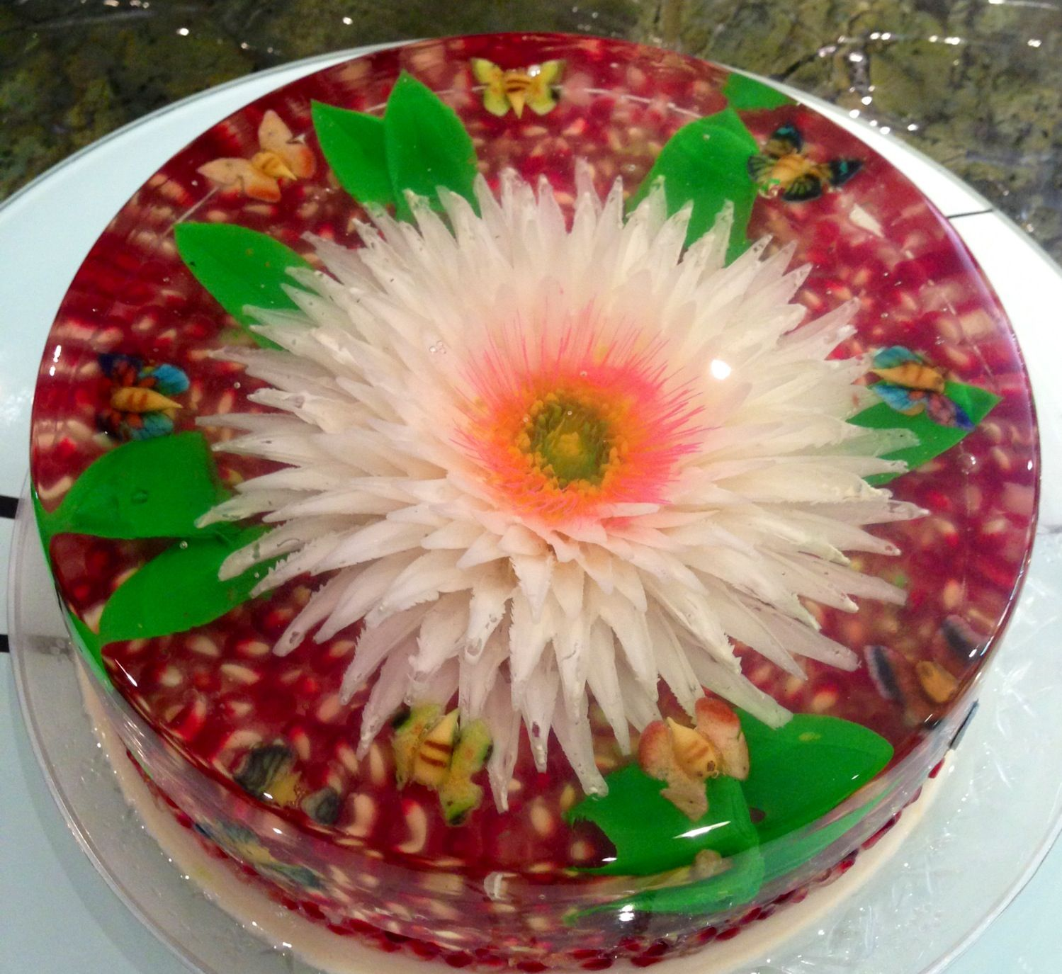 Gelatin Cake Art : ,3D Edible Gelatin Art, classes and tools Art De Gelatin ...
