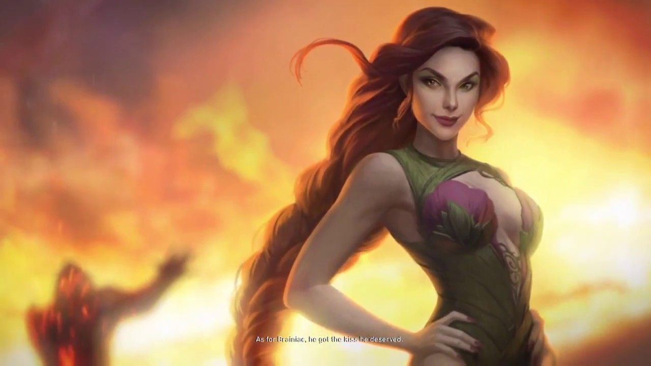 Injustice 2 Poison Ivy Story Mode Ending Hd Gameplay Poison Ivy Injustice Injustice 2