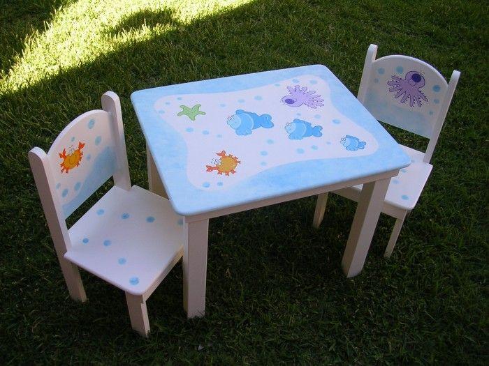 Mesa y sillas para ni os imagui muebles pinterest - Sillas infantiles escritorio ...