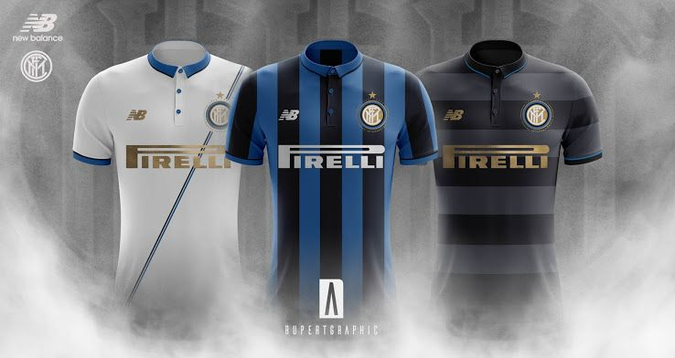 New Balance Inter Milan 17-18 Home 8dc2409ad