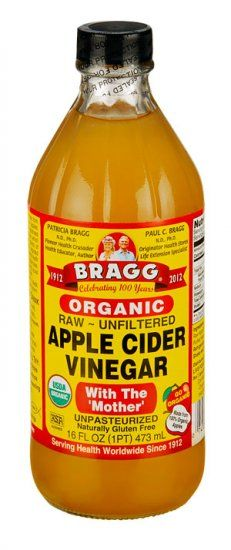 Organic Apple Cider Vinegar #applecidervinegarbenefits
