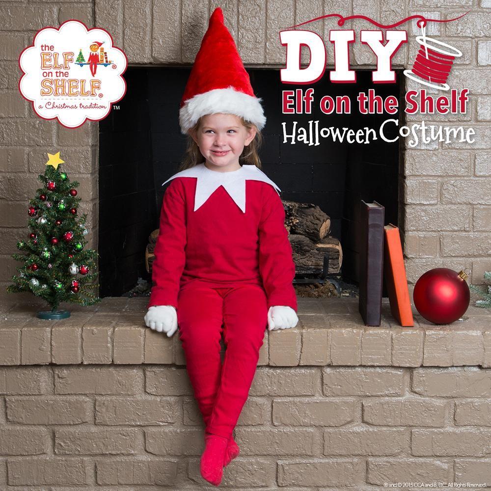 Easy DIY Scout Elf Costume Diy christmas costumes, Diy