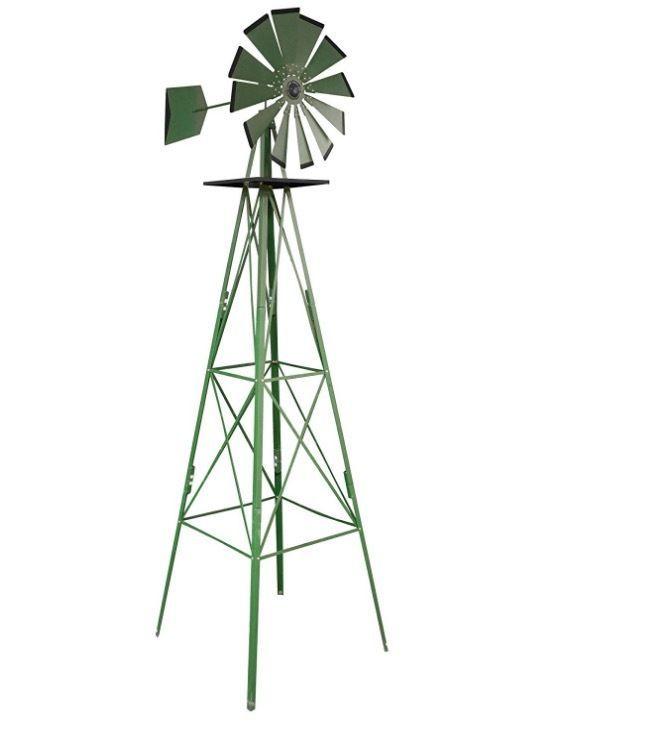 Build Your Own Windmill Kit Garden Decor Accent Home Outdoor Yard