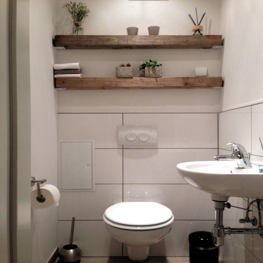 Eichenbalken Regal Badezimmerwand Ideen Zuhause Rustikales Haus