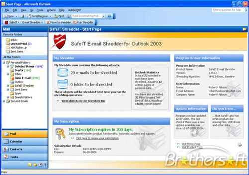 Microsoft outlook free download.