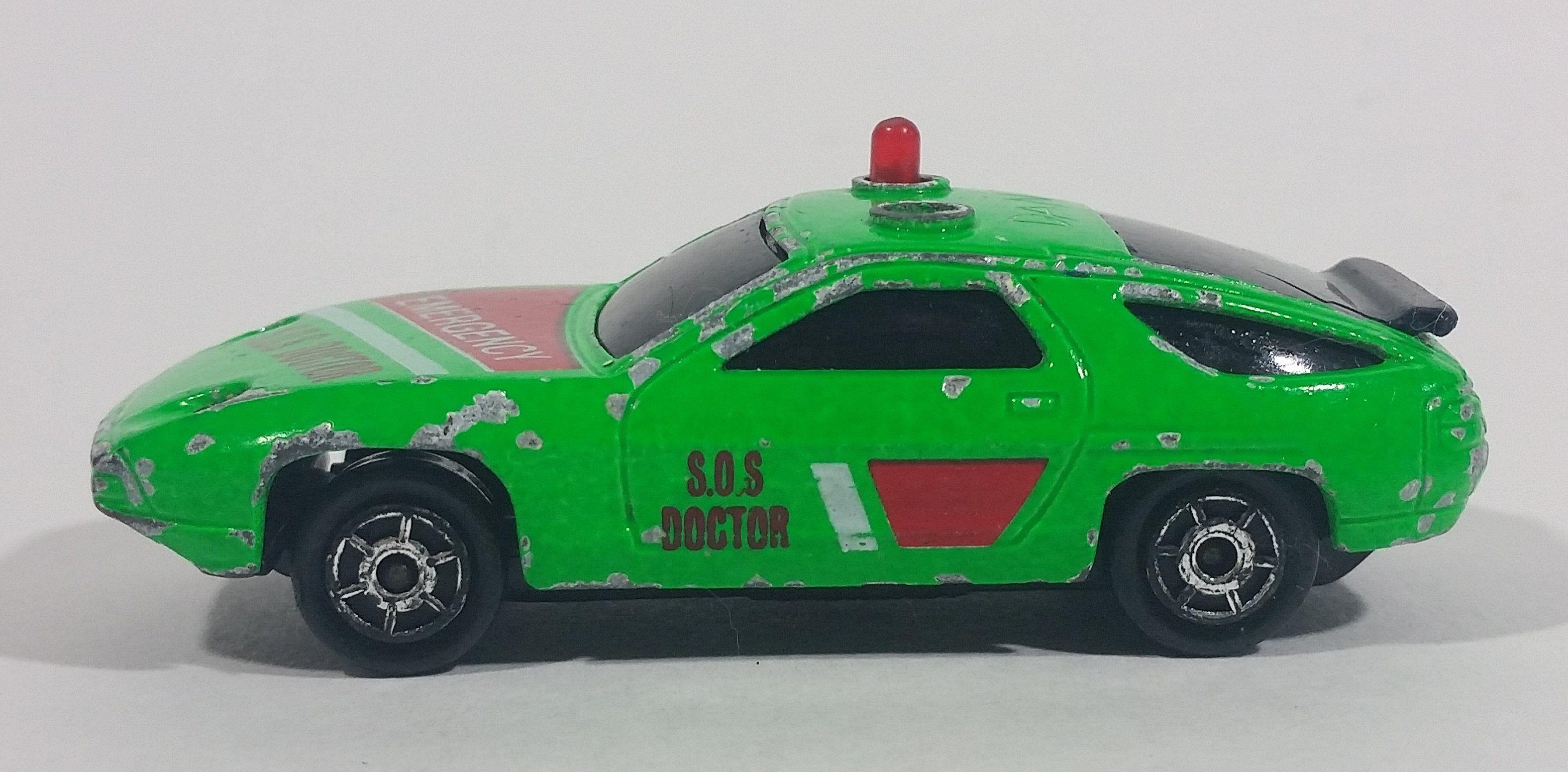 Majorette military ambulance medic MLC 1980s sonic flashers w-red lights