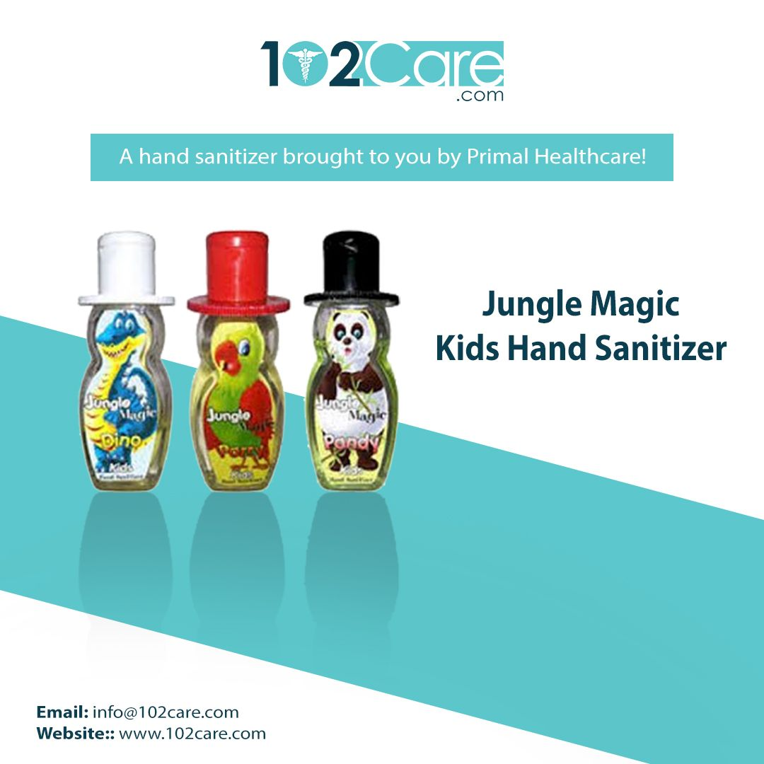 Jungle Magic Kids Hand Sanitizer Hand Sanitizer For Kids