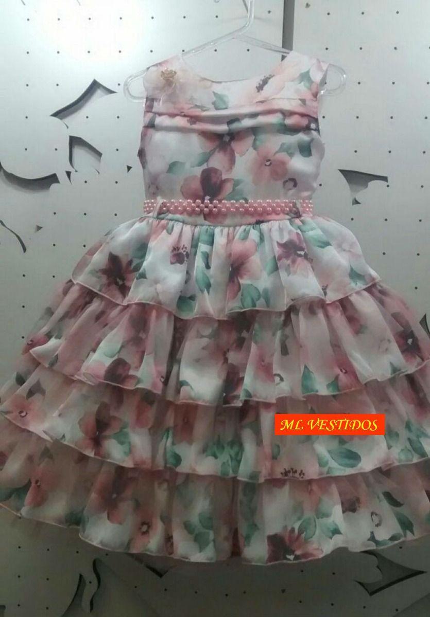 vestido infantil com babado para festa - Pesquisa Google   roupas ... 49d373a521
