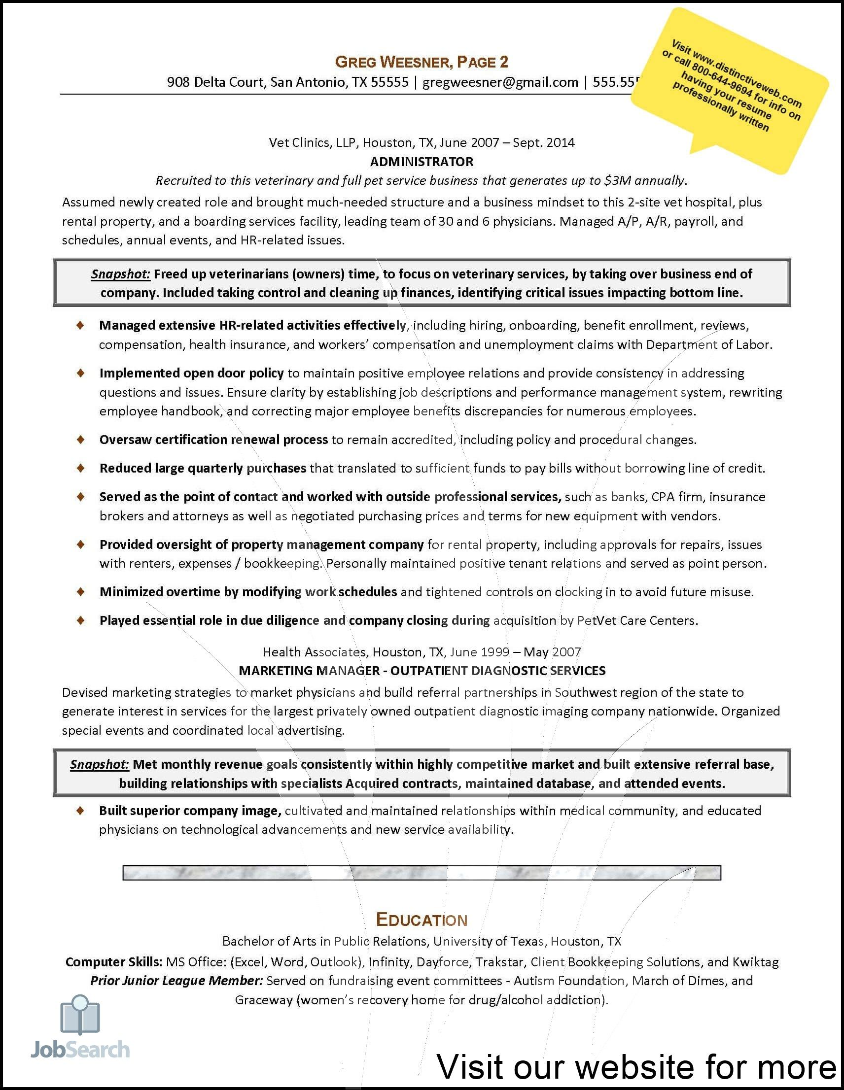resume examples for jobs Professional in 2020 (With images
