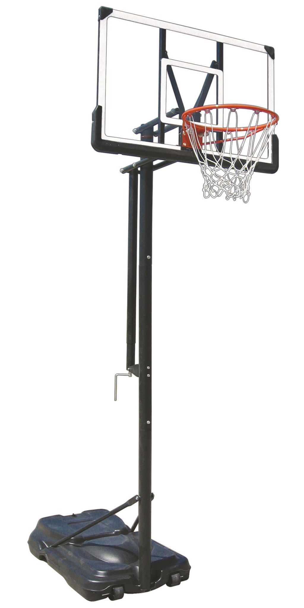 first team invader portable basketball hoop 44 inch acrylic