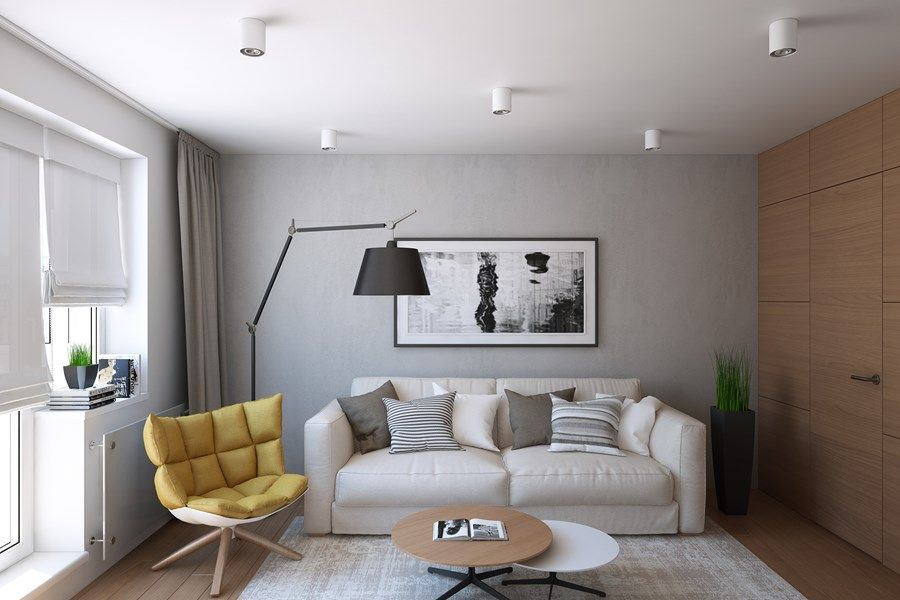 Snigeri by Geometrium 07 Living room, ideas, apartment, design