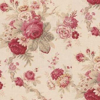 Norfolk Rose Waverly Wallpaper Doll House Wallpaper Rose Wallpaper