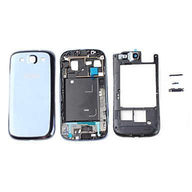 Replacement Front Frame Panel, Middle Chassis and Battery Cover for Samsung Galaxy S3 I9300 http://mxpi.co.nf/?item=436957
